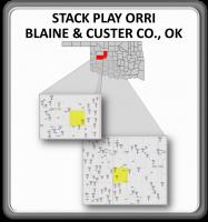 STACK PLAY - PRODUCING ORRI - BLAINE & CUSTER CO., OKLAHOMA